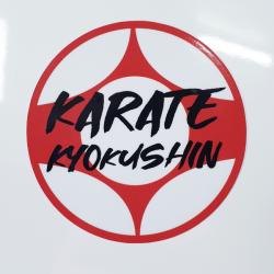 Naklejka karate kyokushin