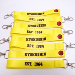 Żółta smyczka KYOKUSHIN...