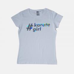 Damska koszulka KARATE GIRL...