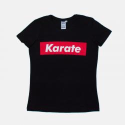 Damska koszulka KARATE