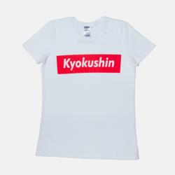 Damska koszulka kyokushin